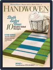 Handwoven Magazine (Digital) Subscription November 1st, 2020 Issue