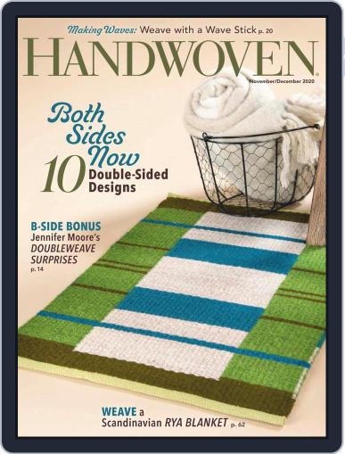 Handwoven Magazine (Digital) November 1st, 2020 Issue Cover