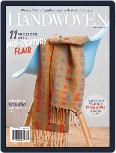 Handwoven Magazine (Digital) March 1st, 2021 Issue Cover