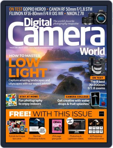 Digital Camera World Magazine March 1st, 2021 Issue Cover