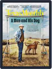 Texas Monthly Magazine (Digital) Subscription March 1st, 2021 Issue