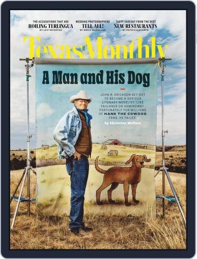 Texas Monthly Magazine (Digital) March 1st, 2021 Issue Cover