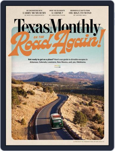 Texas Monthly Magazine (Digital) May 1st, 2021 Issue Cover