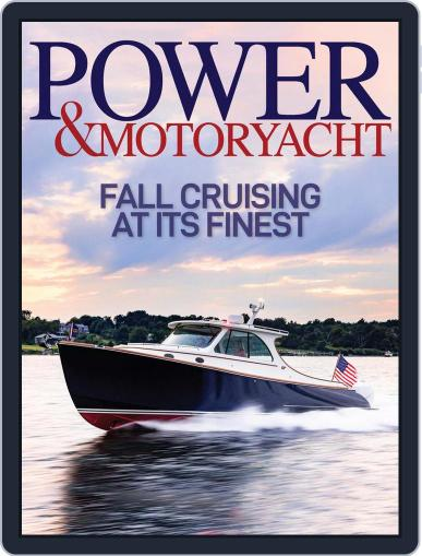 Power & Motoryacht Magazine (Digital) November 1st, 2021 Issue Cover