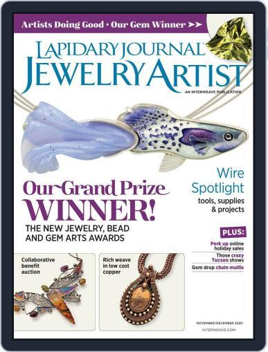 Lapidary Journal Jewelry Artist Magazine (Digital) November 1st, 2020 Issue Cover