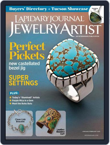 Lapidary Journal Jewelry Artist Magazine (Digital) January 1st, 2021 Issue Cover