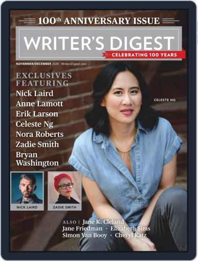 Writer's Digest Magazine (Digital) November 1st, 2020 Issue Cover
