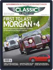 Classic & Sports Car Magazine (Digital) Subscription November 1st, 2020 Issue