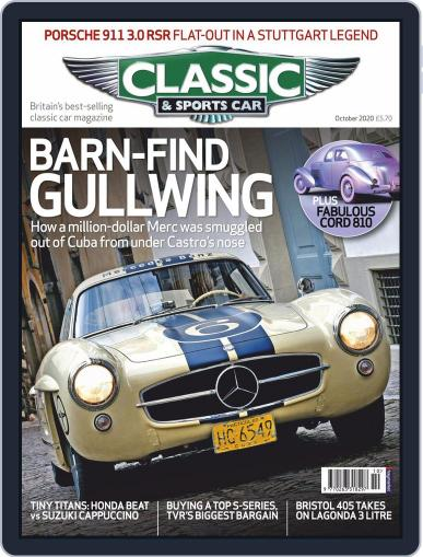 Classic & Sports Car Magazine (Digital) October 1st, 2020 Issue Cover
