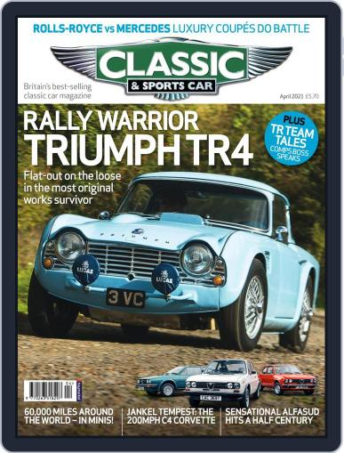 Classic & Sports Car Magazine (Digital) April 1st, 2021 Issue Cover