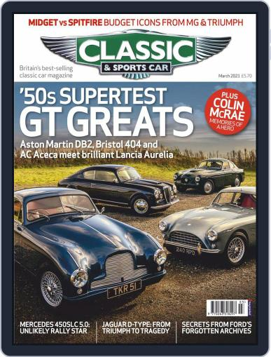 Classic & Sports Car Magazine (Digital) March 1st, 2021 Issue Cover