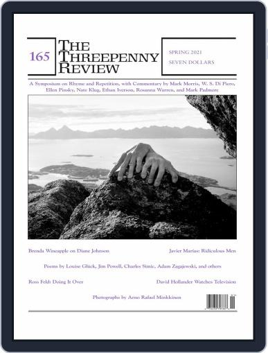 The Threepenny Review Magazine (Digital) March 1st, 2021 Issue Cover