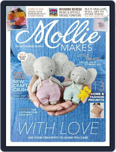Mollie Makes Magazine (Digital) March 1st, 2021 Issue Cover