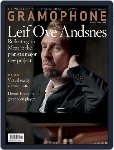 Gramophone Magazine (Digital) May 1st, 2021 Issue Cover