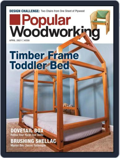 Popular Woodworking Magazine (Digital) March 1st, 2021 Issue Cover