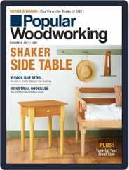 Popular Woodworking Magazine (Digital) Subscription November 1st, 2021 Issue