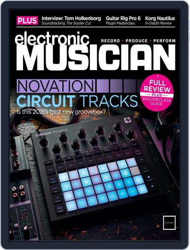 Electronic Musician Magazine (Digital) July 1st, 2021 Issue Cover