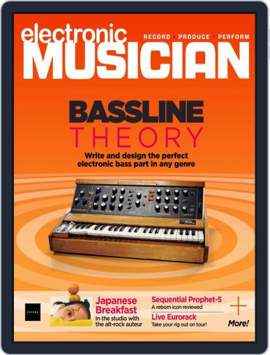Electronic Musician Magazine (Digital) November 1st, 2021 Issue Cover