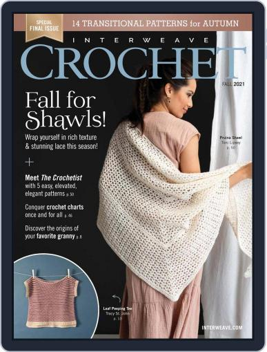 Interweave Crochet (Digital) August 12th, 2021 Issue Cover