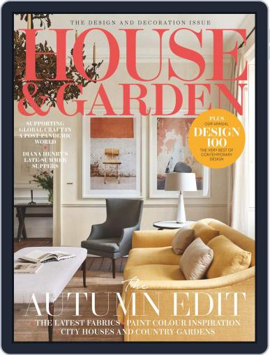 House and Garden Magazine (Digital) October 1st, 2020 Issue Cover
