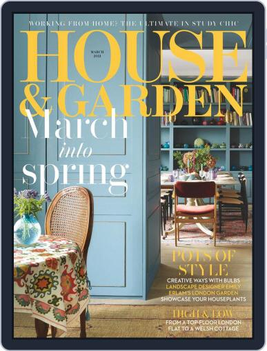House and Garden Magazine (Digital) March 1st, 2021 Issue Cover