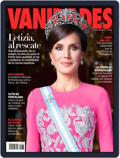 Vanidades México Magazine (Digital) September 15th, 2020 Issue Cover