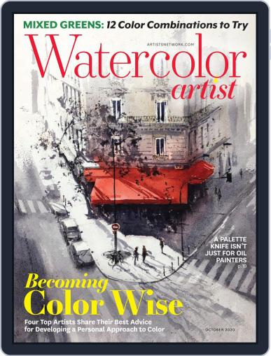 Watercolor Artist Magazine (Digital) July 27th, 2020 Issue Cover