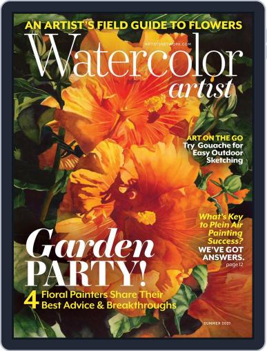 Watercolor Artist Magazine (Digital) April 1st, 2021 Issue Cover