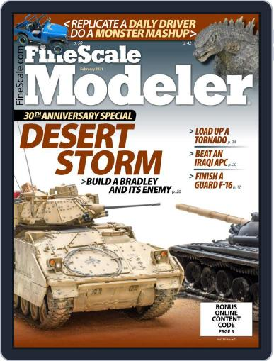 FineScale Modeler Magazine (Digital) February 1st, 2021 Issue Cover