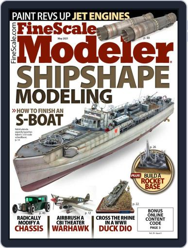 FineScale Modeler Magazine (Digital) May 1st, 2021 Issue Cover