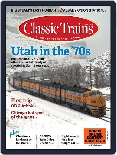Classic Trains Magazine (Digital) February 1st, 2021 Issue Cover