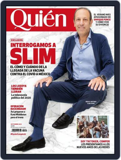 Quién Magazine (Digital) September 1st, 2020 Issue Cover