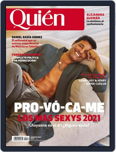 Quién Magazine (Digital) August 1st, 2021 Issue Cover