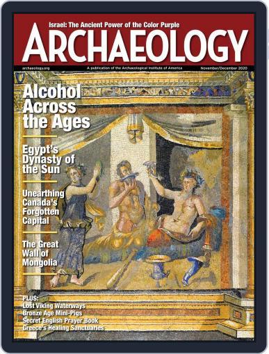 ARCHAEOLOGY Magazine (Digital) November 1st, 2020 Issue Cover