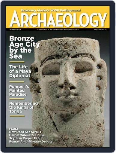 ARCHAEOLOGY Magazine (Digital) July 1st, 2021 Issue Cover