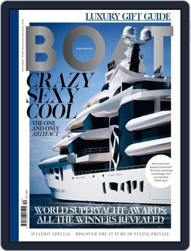 Boat International Magazine (Digital) December 1st, 2020 Issue Cover