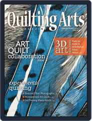 Quilting Arts Magazine (Digital) Subscription January 25th, 2012 Issue