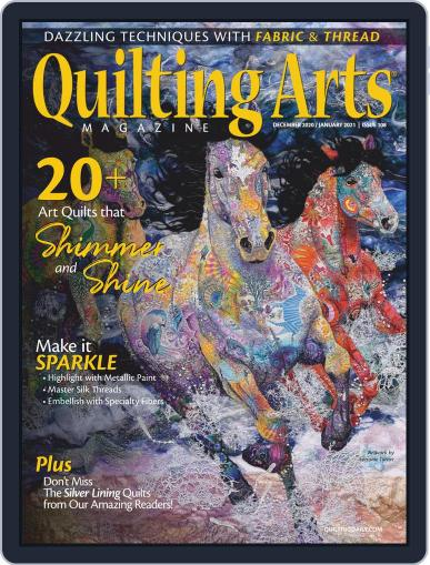Quilting Arts Magazine (Digital) December 1st, 2020 Issue Cover