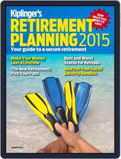 Kiplinger's Retirement Planning April 8th, 2015 Digital Back Issue Cover