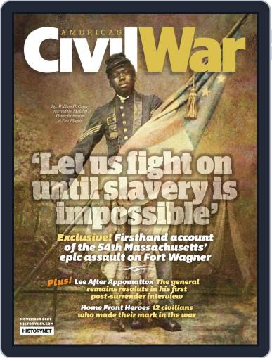 America's Civil War Magazine (Digital) November 1st, 2021 Issue Cover