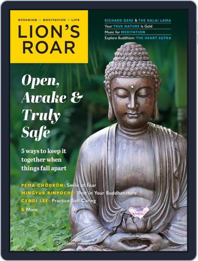 Lion's Roar Magazine (Digital) July 1st, 2021 Issue Cover