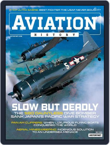 Aviation History Magazine (Digital) May 1st, 2021 Issue Cover
