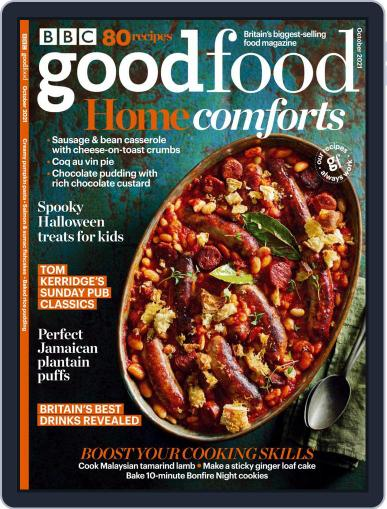 Bbc Good Food Magazine (Digital) October 1st, 2021 Issue Cover