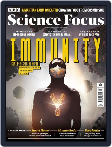 BBC Science Focus Magazine (Digital) September 1st, 2020 Issue Cover