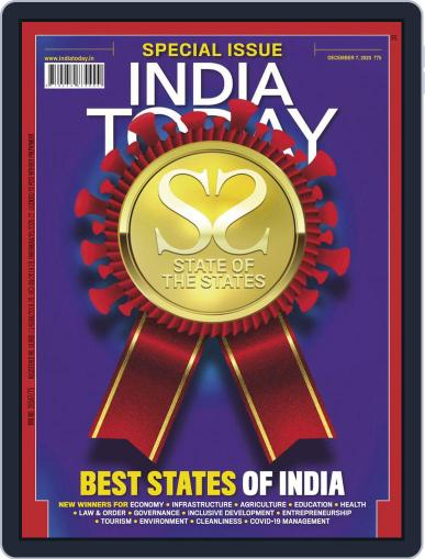 India Today Magazine (Digital) December 7th, 2020 Issue Cover