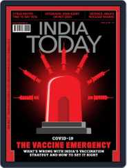 India Today Magazine (Digital) Subscription April 26th, 2021 Issue