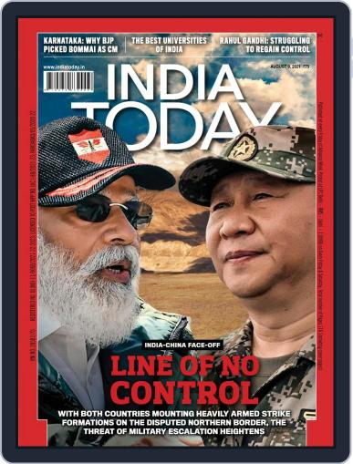 India Today Magazine (Digital) August 9th, 2021 Issue Cover