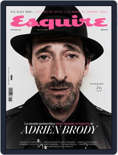 Esquire  México Magazine (Digital) September 1st, 2020 Issue Cover