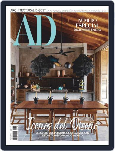 Architectural Digest Mexico Magazine (Digital) December 1st, 2020 Issue Cover