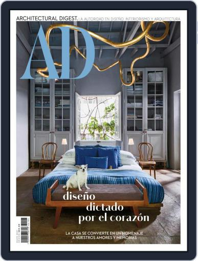 Architectural Digest Mexico Magazine (Digital) May 1st, 2021 Issue Cover